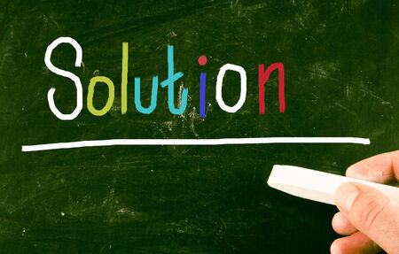 solution: solution concept