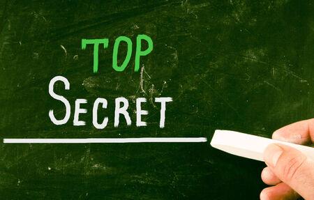 top secret concept photo
