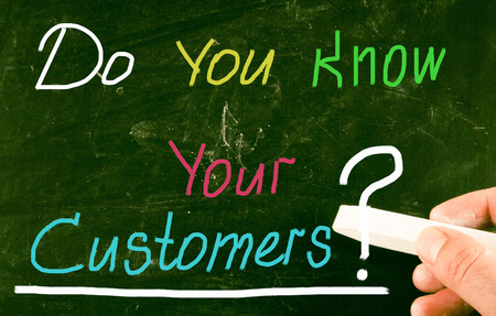 do you know your customers? photo