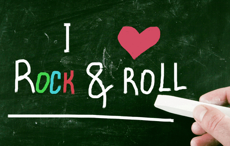 rock and roll: I love rock & roll