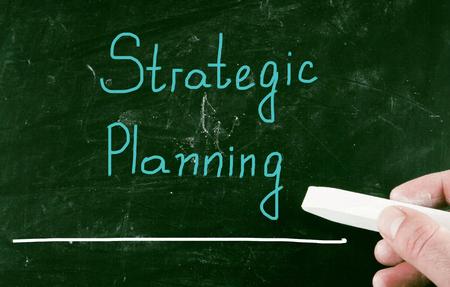 planificacion estrategica: planeacion estrategica Foto de archivo