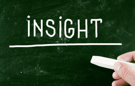 insightful: insight concept