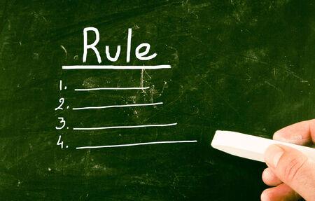 rule: rule concept