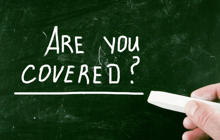 are you covered? Stock Photo