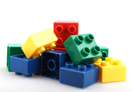 yellow lego block: Building Blocks