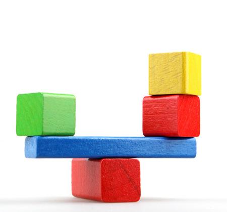 play blocks: Wooden Building Blocks.