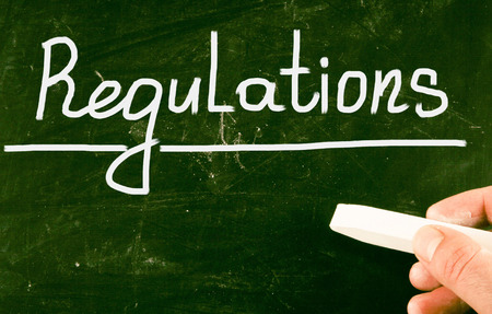 comply: regulations concept