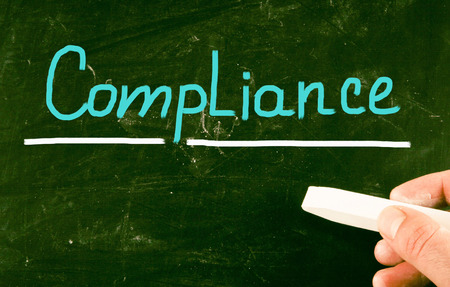 comply: compliance concept Stock Photo