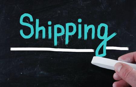 forwarding agency: shipping concept Stock Photo