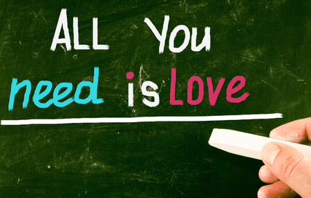 all love: all you need is love