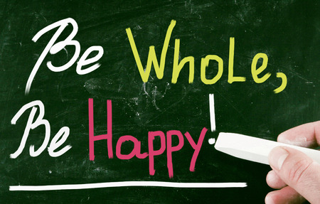 be: be whole, be happy!
