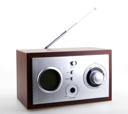 retro radio: Retro Radio Stock Photo