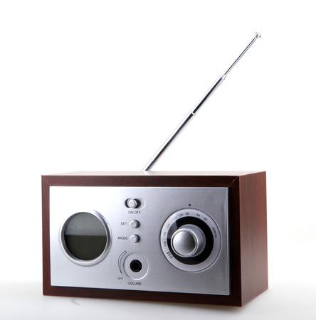 shortwave: Retro Radio Stock Photo