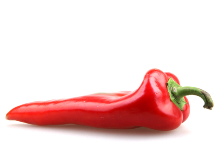 chiles secos: Pimiento rojo. Foto de archivo