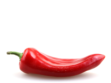 spicey: Red Pepper.