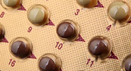 mdma: Packs of pills. Stock Photo