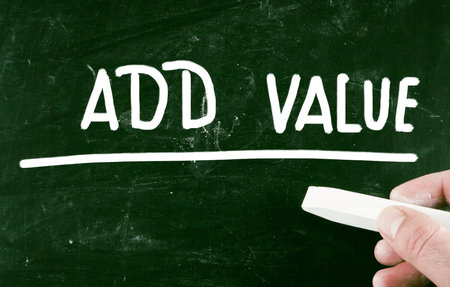 add: add value