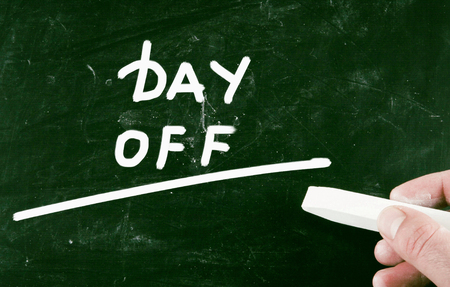 off day: day off