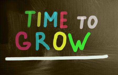 accomplishing: time to grow