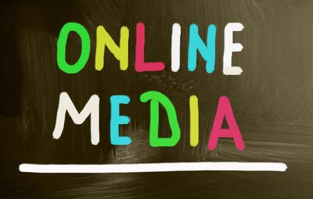 online: online media