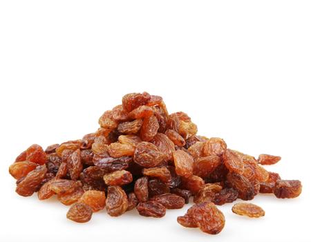 raisins isolated.