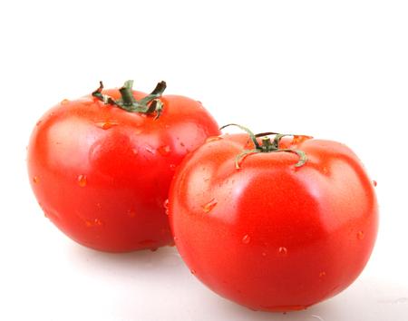 tomato isolated Stock Photo