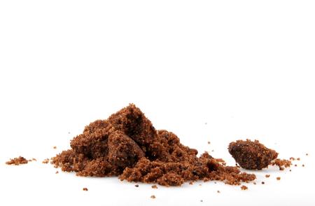 Raw Cane Sugar Stock Photo