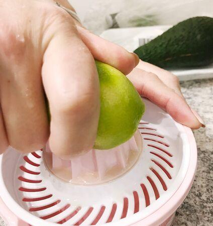 Preparation of fresh limes