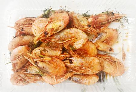 Fresh Grilled Shrimp