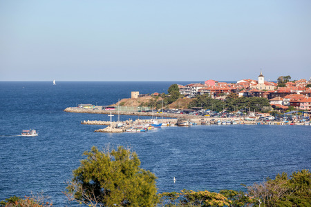 View From The Beautiful Sea Town Of Nessebar, Bulgaria.