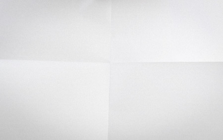 Old White Crumpled Paper Sheet Background Texture