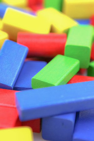 Colorful Wooden Building Blocks Toys