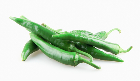 jalapeno peppers isolated on white