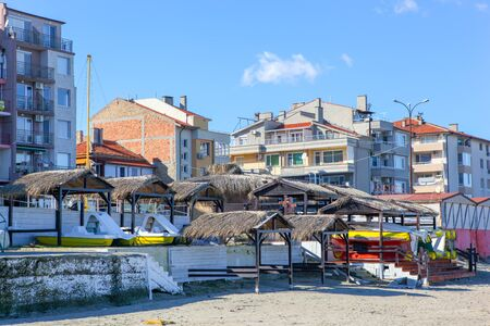 View from the town of Pomorie, Bulgaria.
