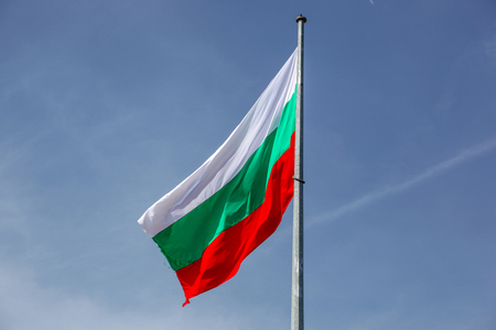 Bulgarian Flag High In Heaven