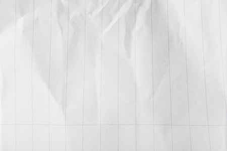 Texture Of Crumpled White Paper Stock Photo