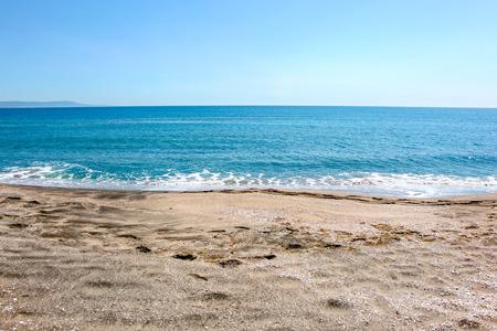 Beautiful Beach And Incredible Sea In Pomorie, Bulgaria.