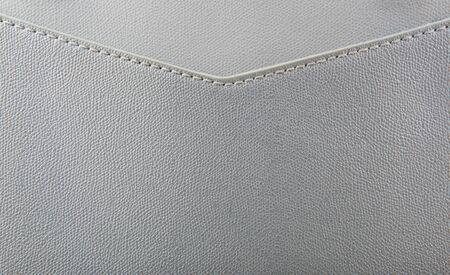 Close-Up Of Gray Leather Texture