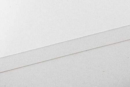 Close-Up Of White Cardboard Texture Background