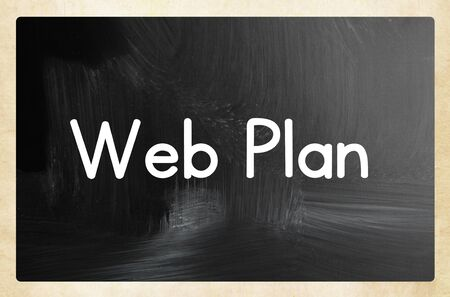 web plan concept