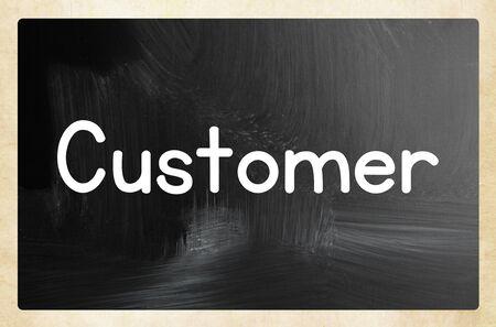 customer concept Reklamní fotografie