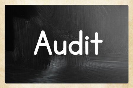 audit concept Zdjęcie Seryjne