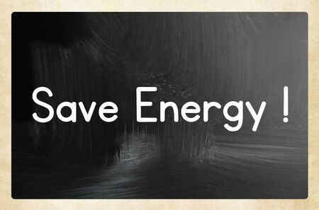 save energy concept Standard-Bild - 131563658