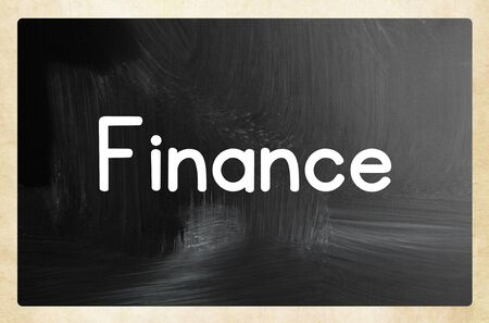 finance concept Stok Fotoğraf