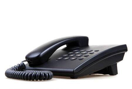 Téléphone isolé Banque d'images