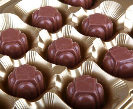 Chocolate Candies 免版税图像