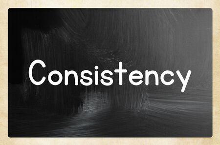 consistency concept 版權商用圖片