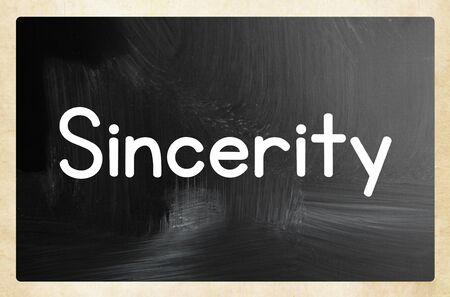 sincerity concept Banco de Imagens - 131827556