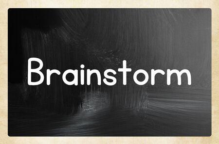 brainstorm concept Zdjęcie Seryjne