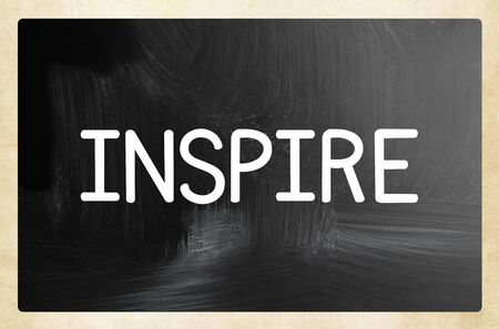 inspire concept Banco de Imagens - 131809879